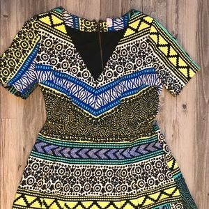Geometric Dress by Tracy Reese